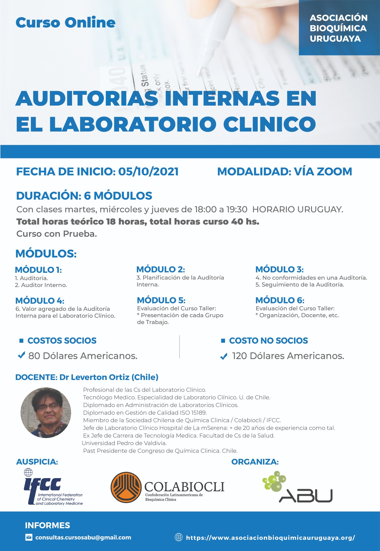 AUDITORIAS INTERNAS EN EL LABORATORIO